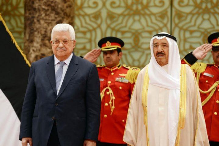 الرئيس عباس ينعى أمير دولة الكويت