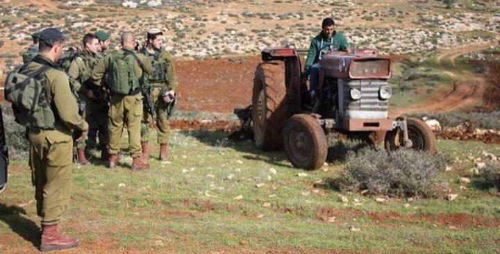 الاغوار الشمالية: الاحتلال يستولي على مركبة في سهل البقيعة