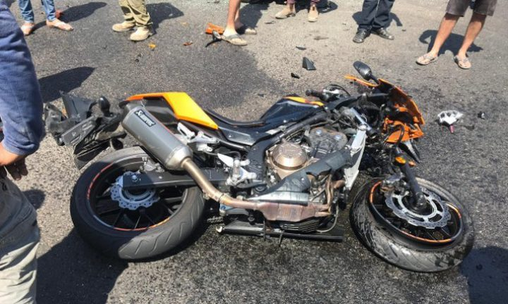 جديدة المكر: إصابة شاب بجراح خطيرة في حادث دراجة نارية