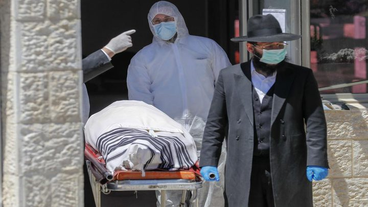 حصيلة وفيات كورونا في دولة الاحتلال ترتفع لـ 1507 حالة