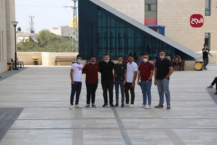 جولة في جامعة النجاح الوطنية