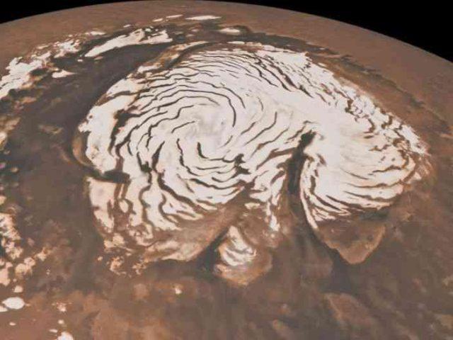 اكتشاف وجود شبكة من البرك المالحة في المريخ