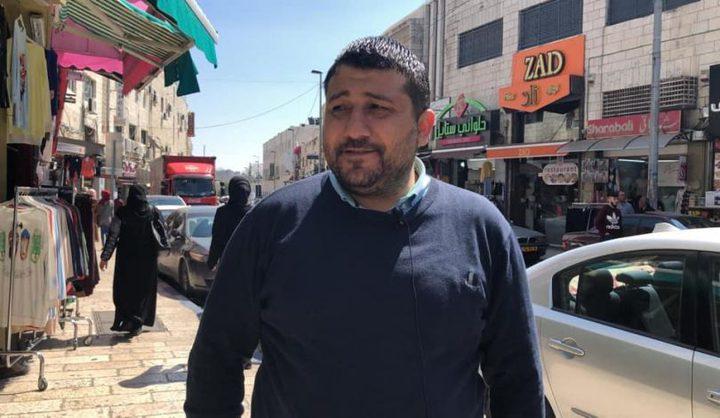 الاحتلال يقرر الإفراج عن أمين سر فتح بالقدس