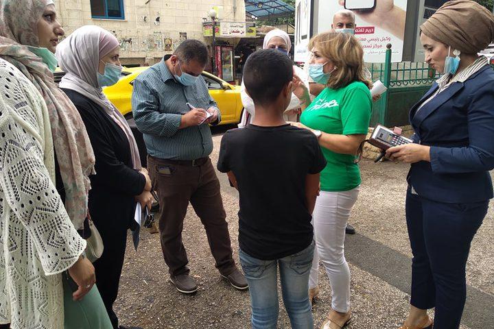 حملة توعية ميدانية لمنع عمالة الاطفال