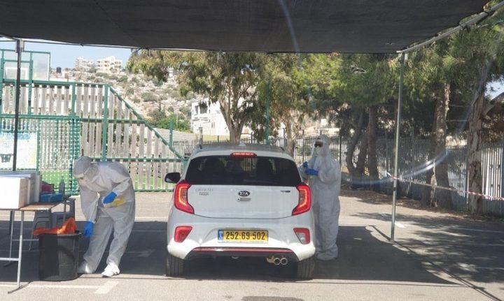 انخفاض إصابات كورونا النشطة في البلدات العربية