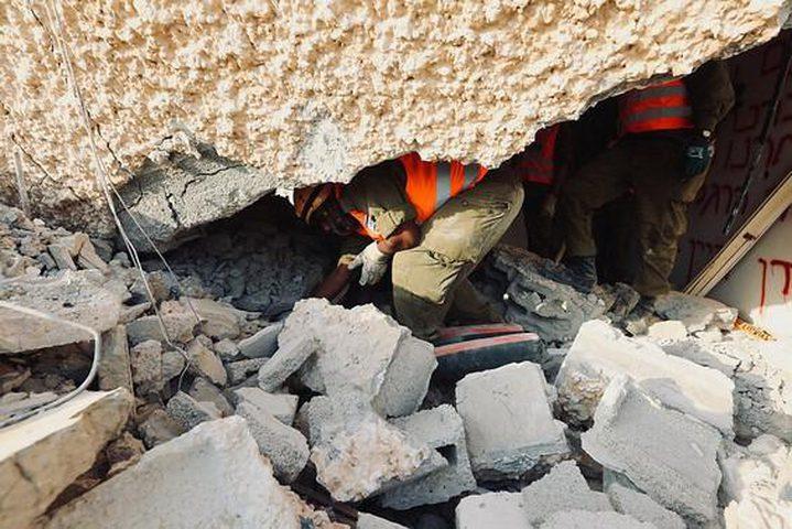 """مناورة """"إسرائيلية"""" تحاكي سقوط صاروخ على فندق لمرضى كورونا"""