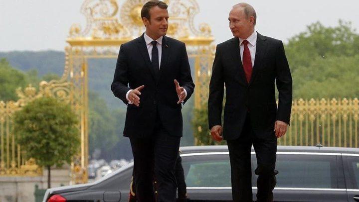"""بوتين لماكرون: محاولات التدخّل في بيلاروس """"غير مقبولة"""""""