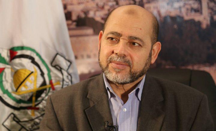 أبو مرزوق: دولتان استعدتا لتكونا ضامنتين للمصالحة