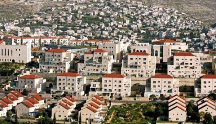 """""""إسرائيل"""" تقرر المصادقة على بناء 5400 وحدة استيطانية بالضفة"""