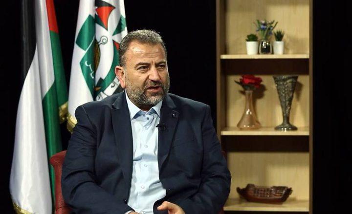 حماس تكلف لجنة برئاسة العاروري لمتابعة الحوار مع فتح والفصائل