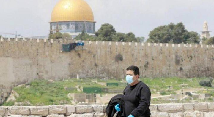القدس: 39 حالة وفاة وأكثر من 4000 اصابة بكورونا الشهر الماضي