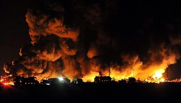 قتيل جراء انفجار في مدينة صناعية وسط إيران