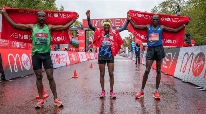 كيتاتا الاثيوبي ينال لقب ماراثون لندن