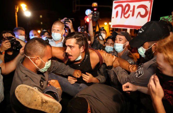 تقرير: قادة شرطة الاحتلال يقمعون المظاهرات للحصول على ترقية