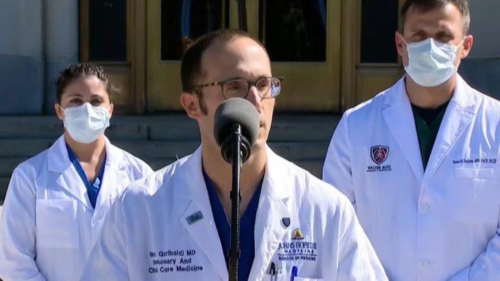 فريق ترامب الطبي: نسب الأوكسجين في دم الرئيس جيدة
