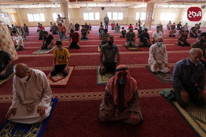 إعادة فتح مساجد خانيونس جنوب قطاع غزة مع إجراءات الوقاية من كورونا