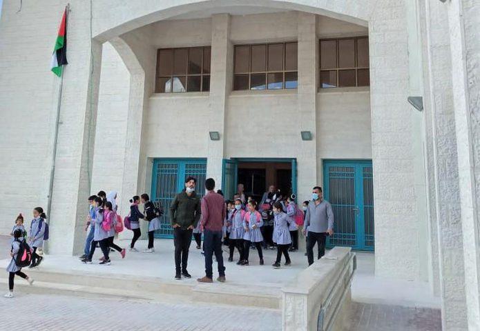 """بيت لحم: """"التربية"""" تتسلم مشروع إنشاء مدرسة تقوع الأساسية المختلطة"""