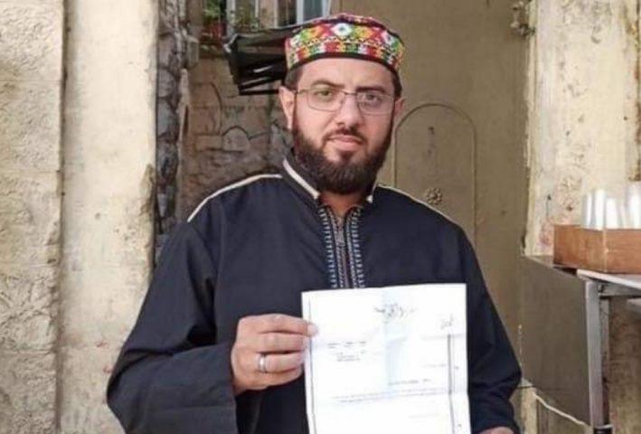 الاحتلال يقرر إبعاد الشيخ رأفت نجيب عن المسجد الأقصى 5 أشهر