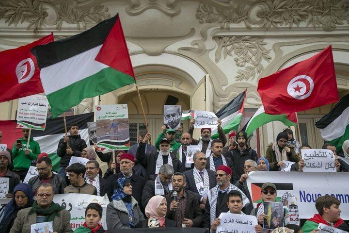 تونس: نحن لا نتضامن مع فلسطين بل نحن في صفها
