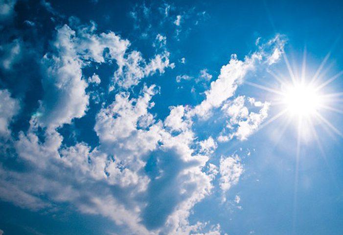الطقس: الحرارة أعلى من معدلها السنوي بحدود 6 درجات