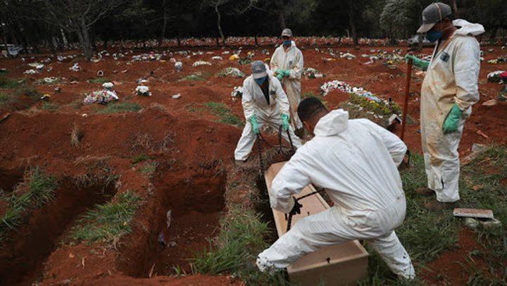 البرازيل: 323 حالة وفاة و11946 اصابة جديدة بفيروس كورونا