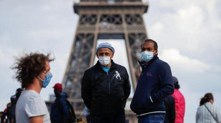 فرنسا: تسجيل أعلى حصيلة إصابات يومية بكورونا منذ بدء الجائحة