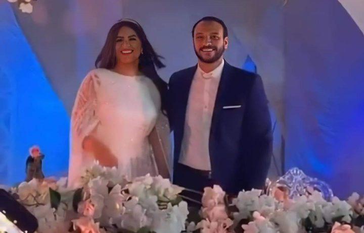 أحمد خالد صالح وهنادي مهنى يعقدان قرانهما في حفل بسيط