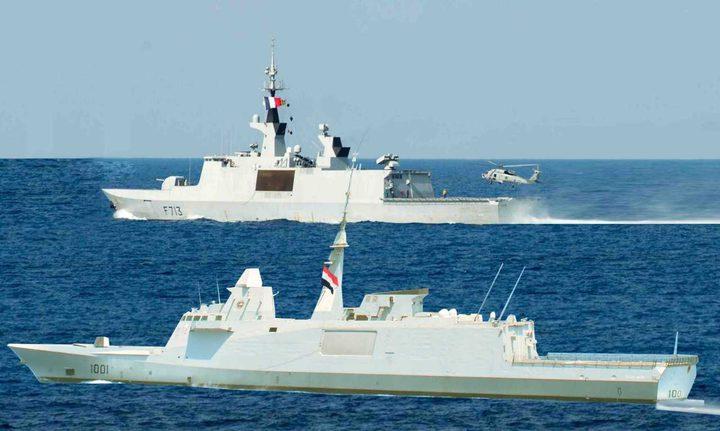 تدريبات بحرية بين الجيش المصري ونظيره الروسي في البحر الأسود