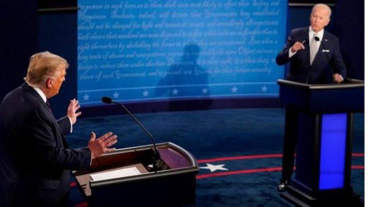 إلغاء المناظرة الرئاسية الثانية بين بايدن وترامب