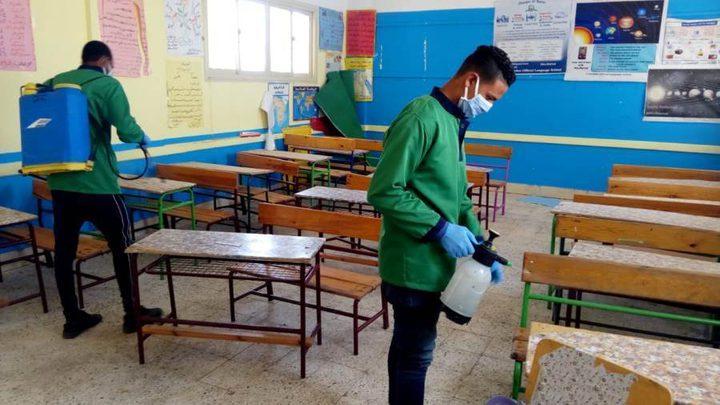 إغلاقمدرسة ثانوية في طولكرم لمدة 24 ساعة بسبب كورونا
