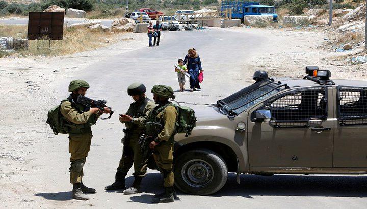 الاحتلال يقتحم قرية شقبا غرب رام الله