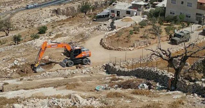 الاحتلال يعلن تعديل حدود أراضٍ للاستيلاء عليها شرق بيت لحم