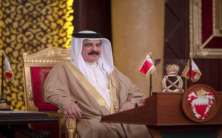 العاهل البحريني يؤكد عن التزام بلاده بمبادرة السلام العربية