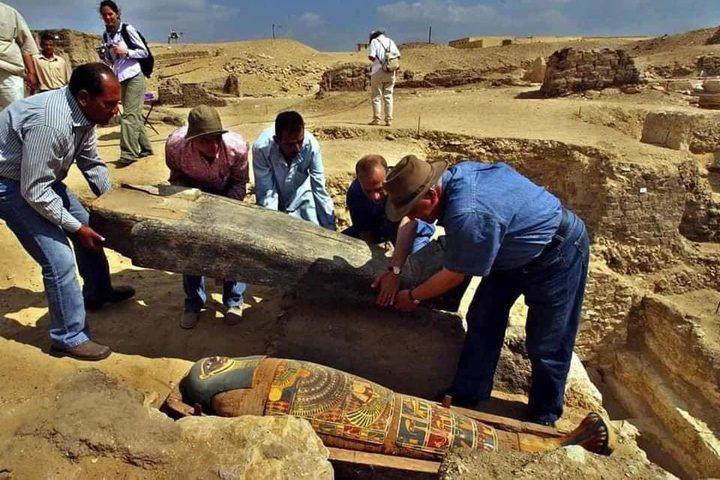 اكتشاف مقبرة فرعونية عمرها حوالي 2500 سنة