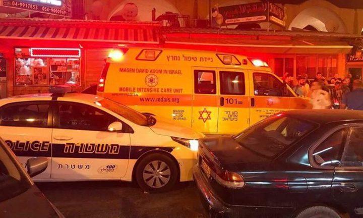 اللد:إصابة خطيرة بجريمة إطلاق نار