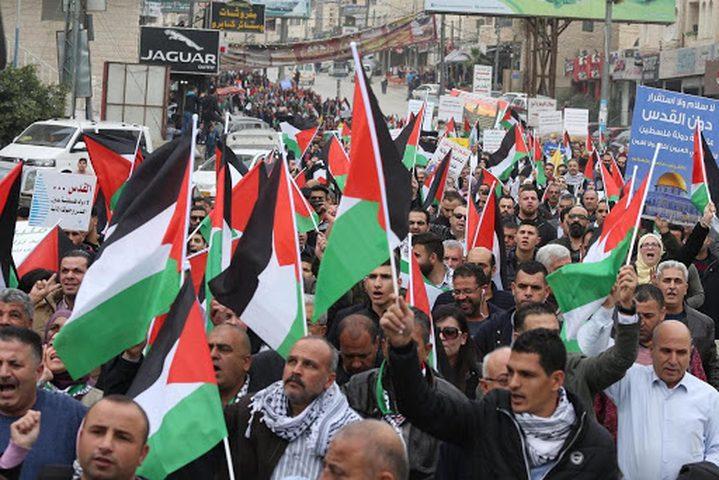 القوى الوطنية تشدد على أهمية توسيع المشاركة في المقاومة الشعبية