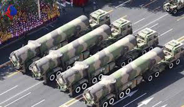 الصين: سنتخذ اجراءات حاسمة رداً على نشر الصواريخ الامريكية