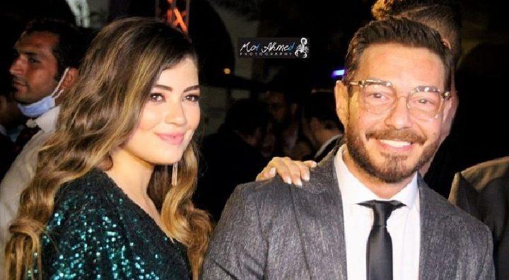 أحمد زاهر ينفعل على معجبين حاولوا التقاط صورة مع ابنته