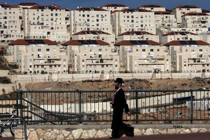 الاحتلال يصادق على بناء 2166 وحدة استيطانية في الضفة الغربية