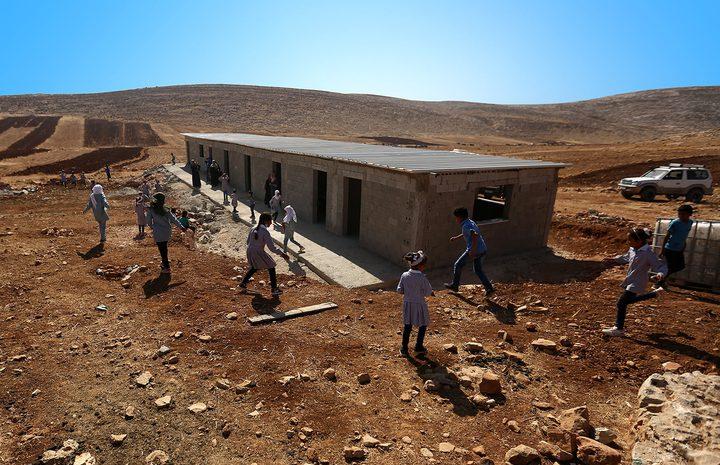 الاحتلال يهدم مدرسة شرق رام الله