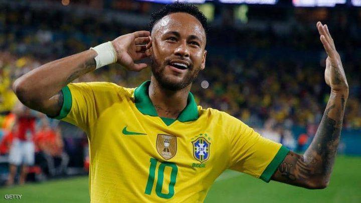 نيمار يقود البرازيل إلى الفوز على البيرو