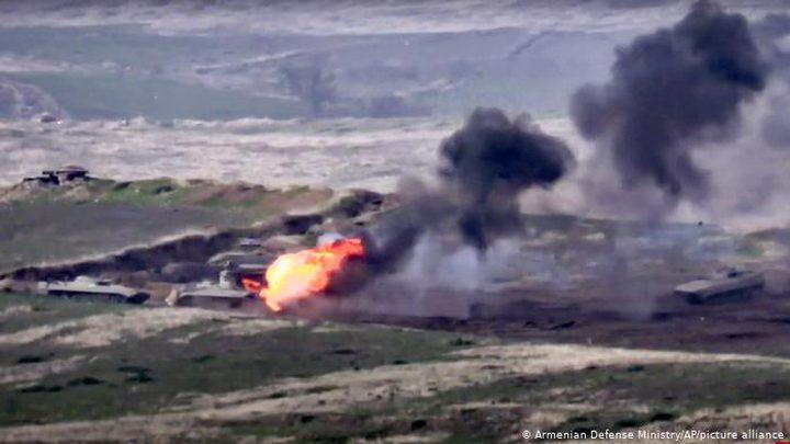 اذربيجان تعلن تدمير معدات عسكرية أرمينية بقيمة مليار دولار