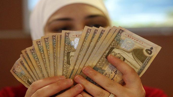 الاردن: ارتفاع احتياطي العملات الأجنبية