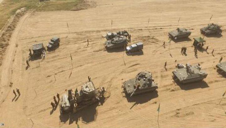 جيش الاحتلال ينفذ مشروع جديد لتسهيل دخول آلياته العسكرية للقطاع