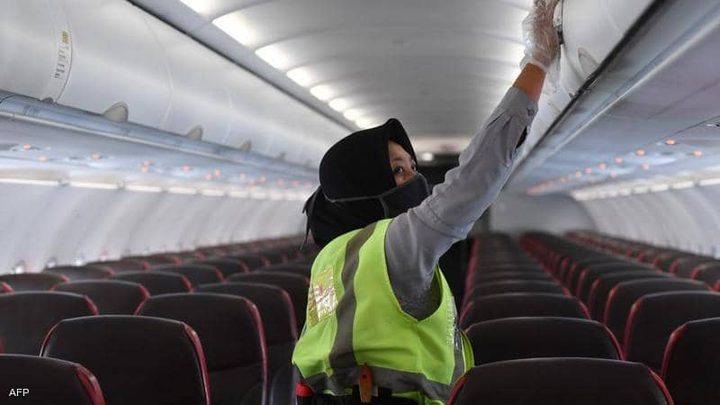 دراسة تكشف عن احتمالية الإصابة بكورونا على متن الطائرة