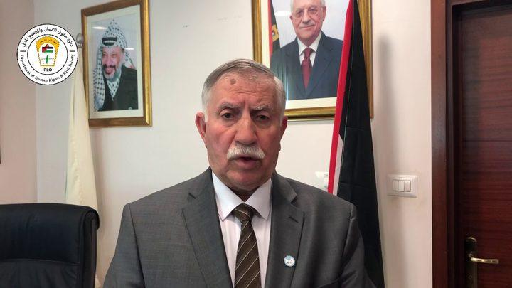 التميمي: منع الاحتلال دخول موظفي المفوضية الساميةتحدي للعالم