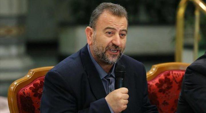 العاروري: حماس رفضت طلبا أمريكيا بشأن الحوار حول صفقة القرن