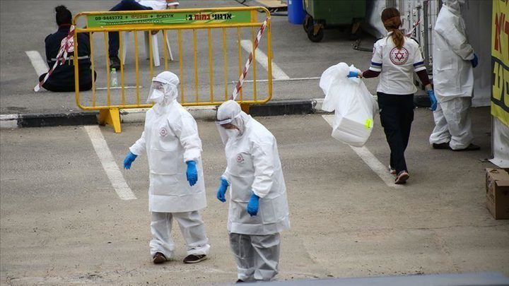 870 إصابة جديدة بفيروس كورونا في دولة الاحتلال