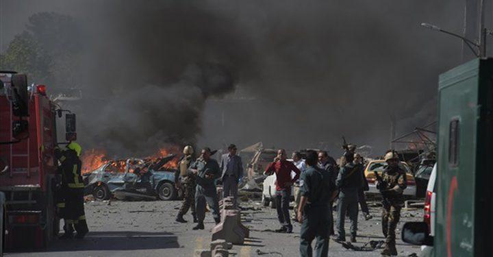 12 قتيلا وأكثر من 100 جريح إثر انفجار وسط أفغانستان