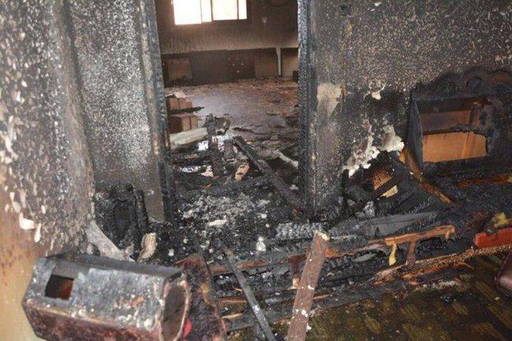 مصرع طفل واصابة 4 آخرين بحريق نشب في منزل بمدينة بيت لحم